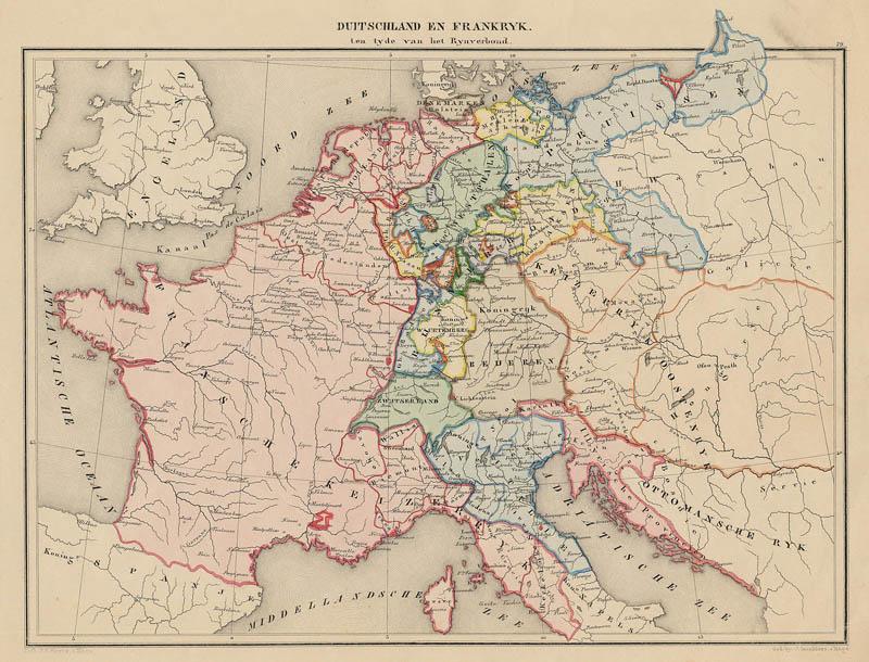 Duitschland En Frankrijk Ten Tijde Van Het Rijnverbond Een